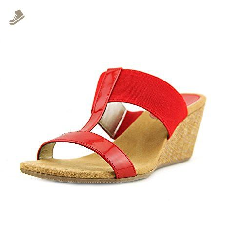 e0a28d02f0047 Style & Co Vern Women US 6.5 Red Wedge Sandal - Style co pumps for ...