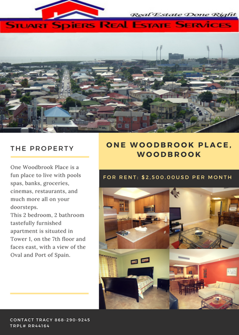 One Woodbrook Place Woodbrook 2 500 00usd Per Month Commercial Property For Sale Commercial Property Property