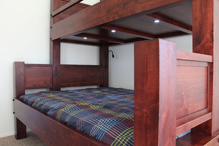 We Offer Many Upgrades To Our High End Bunk Beds Including