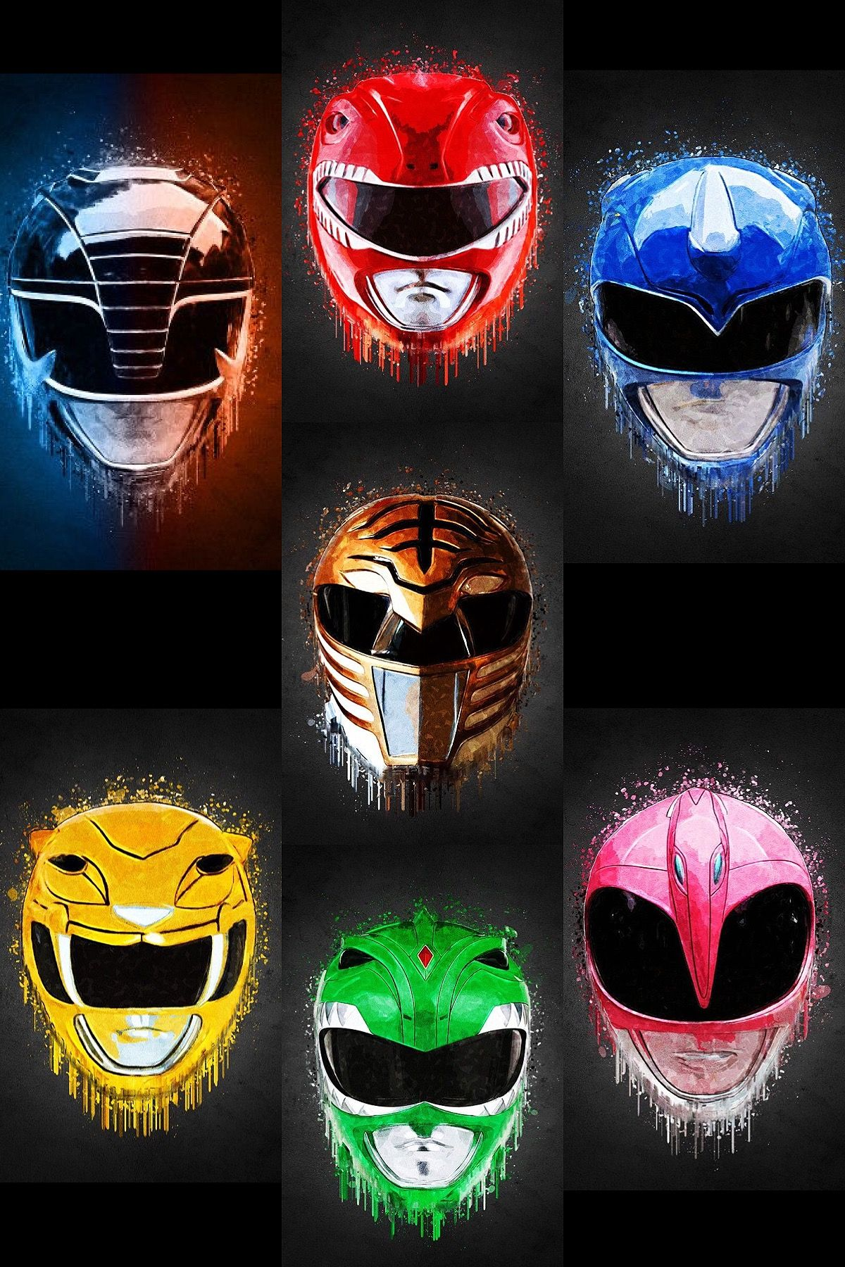 Pin By Richard Ford On Power Rangers Power Rangers Art All