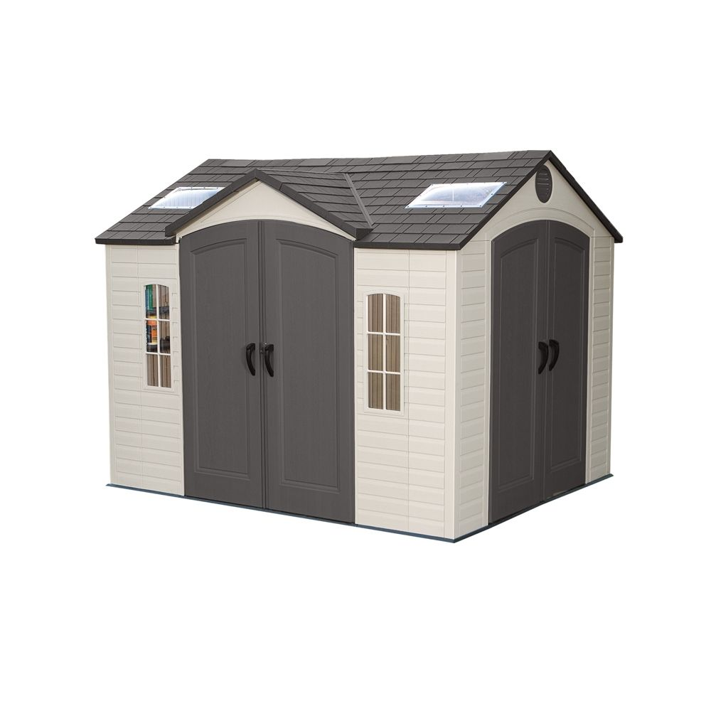 Shop Lifetime Products 10 Ft X 8 Ft Resin Storage Shed At Loweu0027s Canada