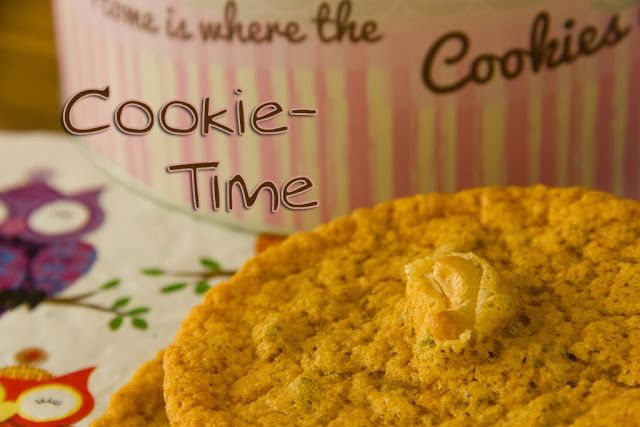 Küchenheldinnen: Lemon-Vanilla-Pistachio-Cookies