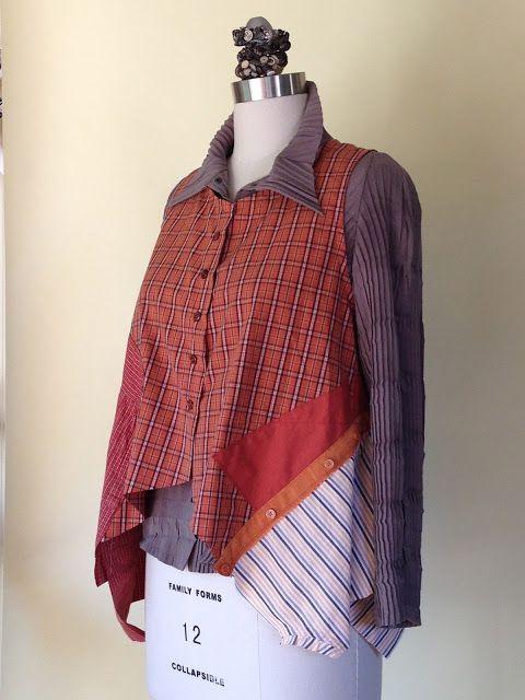 Gayle Ortiz: Men's Shirts into a Vest
