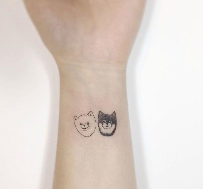 Minimal Tattoos Playground Tat2 Korea Minimalist Tattoo Minimal Tattoo Tattoos