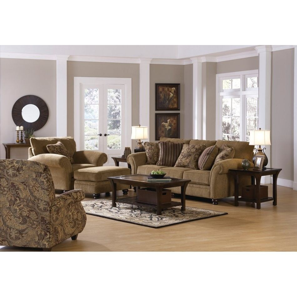 Suffolk Living Room Sofa Loveseat Chair Ottoman 4426