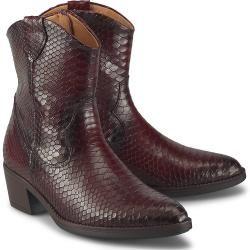 Gabor Western-Stiefelette bordeaux Damen Gabor #cowboysandcowgirls