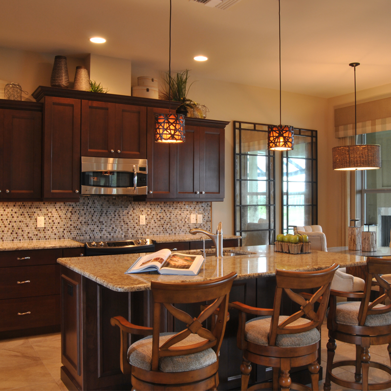 An Open Concept Kitchen And Living Space Like This One Is Perfect For Holiday Entertaining And Family Gatherings Open Concept Kitchen Wayne Homes Kitchen