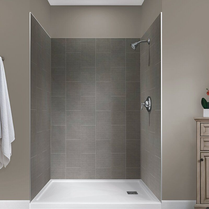 Jetcoat 78 X 48 X 34 Five Panel Shower Wall With Images