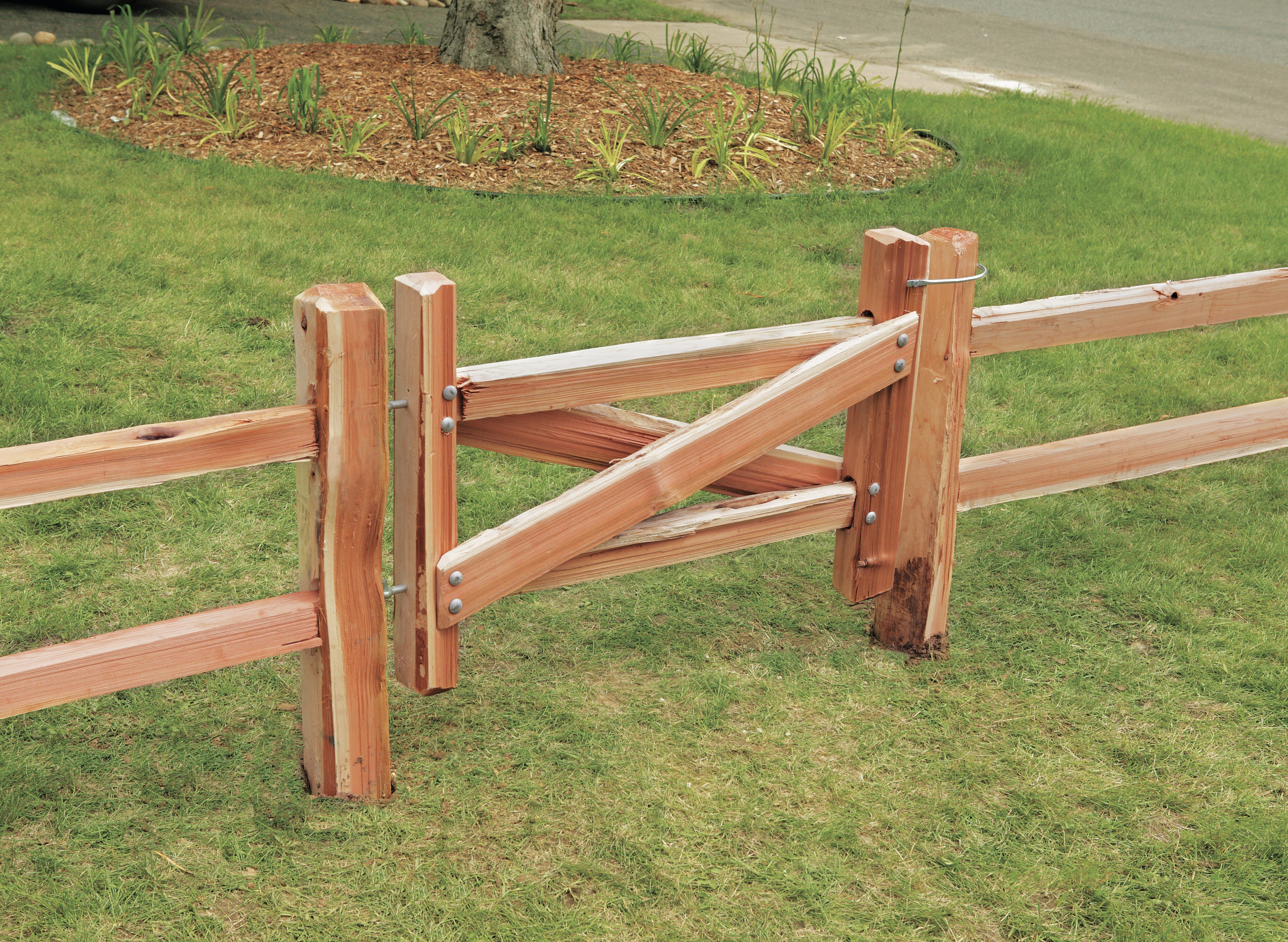 How to build a split rail fence in 2020 brick fence