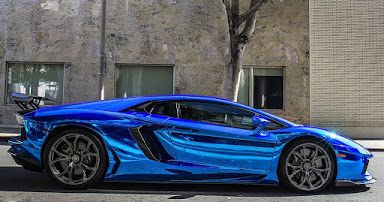 An Electric Blue Lamborghini Aventador What S Your Dream Blue