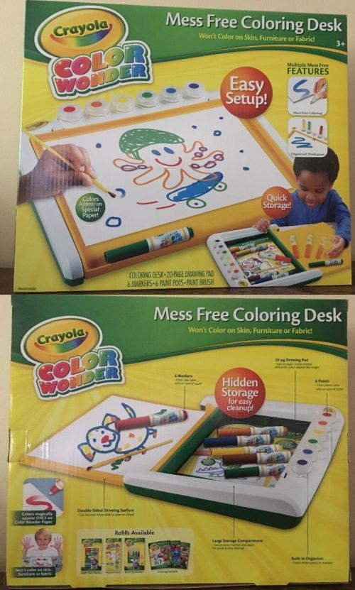 Other Kids Drawing And Painting 160718 Crayola Color Wonder Mess
