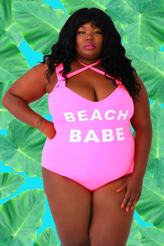 2cb20c4aa3 Looking for a plus size bathing suit or bikini  Bloggers Essie Golden and  Chante of