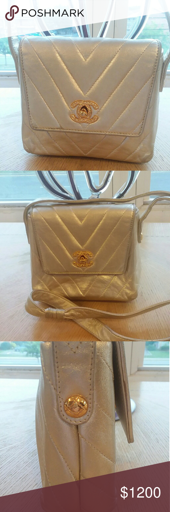 Classic Chanel Quilted Leather Handbag For your