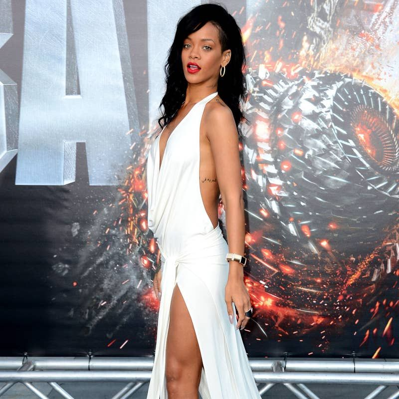 This Is What Rihanna's Looked Like On Red Carpets From ...