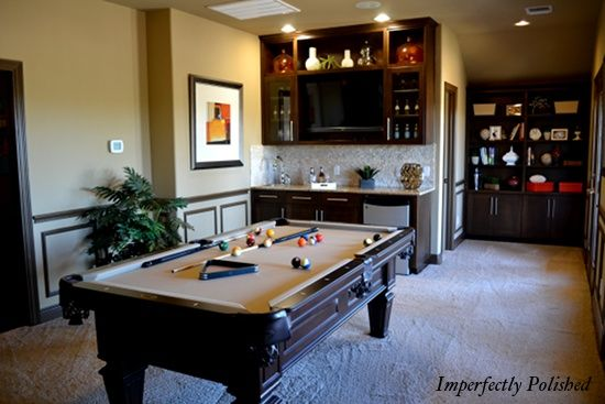 Basement Game Room Like The Colors Maybe Paint Kitchen Cabinets Unique Game Room Ideas For Basements Model