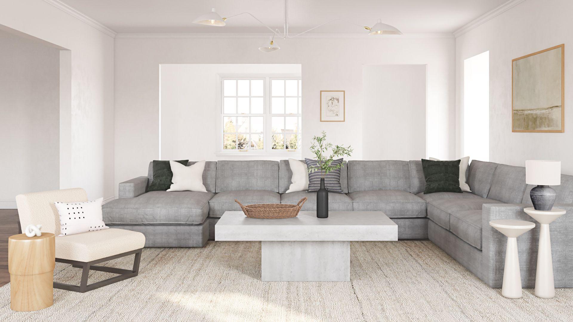 Minimalist Organic Modern Living Room Design Minimal Living Room Modern Sectional Living Room Living Room Designs E design living room