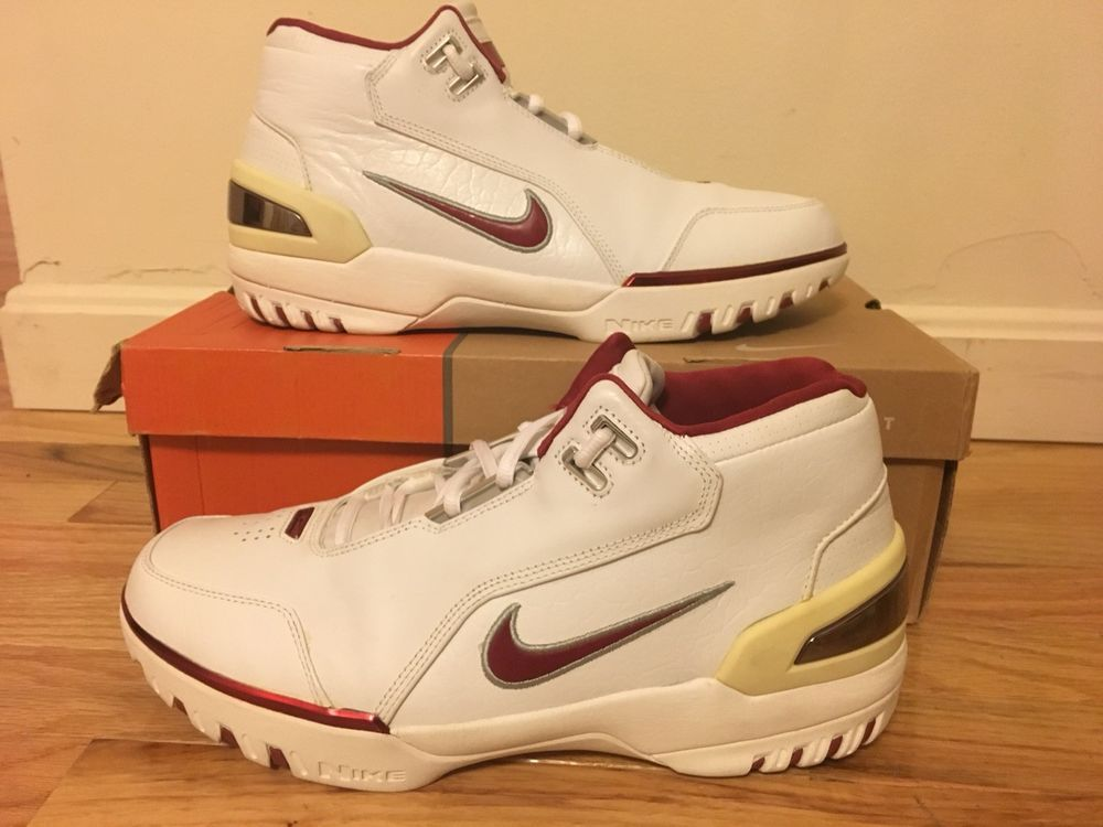 84873b620508 Nike Air Zoom Generation 1 LeBRON JAMES 2003 Rare Shoes 308214-161 Men s US  11.5