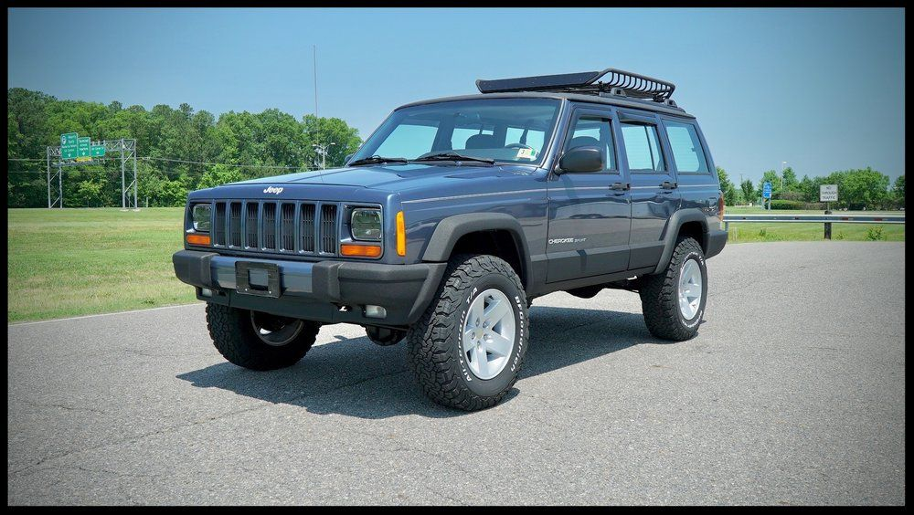Lifted Cherokee Xj For Sale Cherokee Xj For Sale Cherokee Sport Davis Autosports With Images Jeep Cherokee Lift Kits