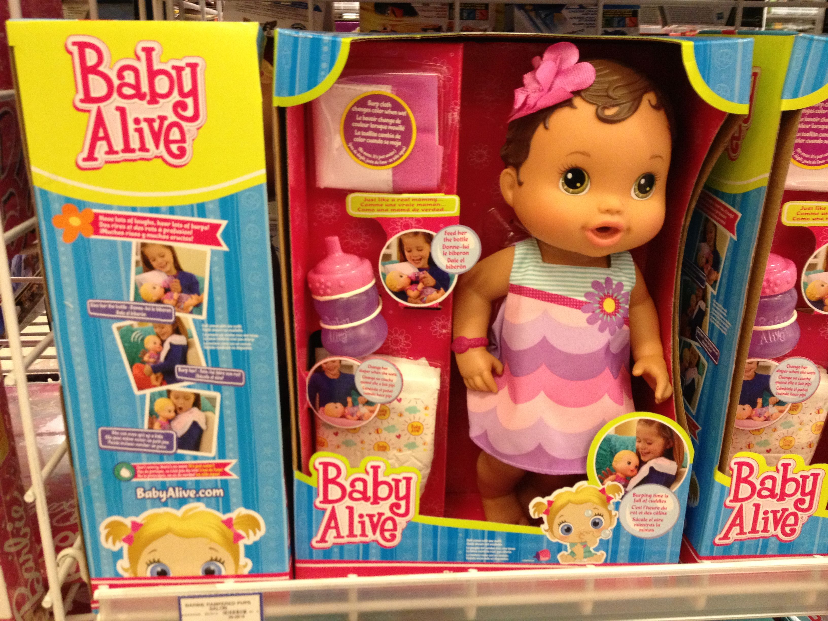 Toys Are Us Baby Dolls : Baby alive doll toys r us express babies dolls