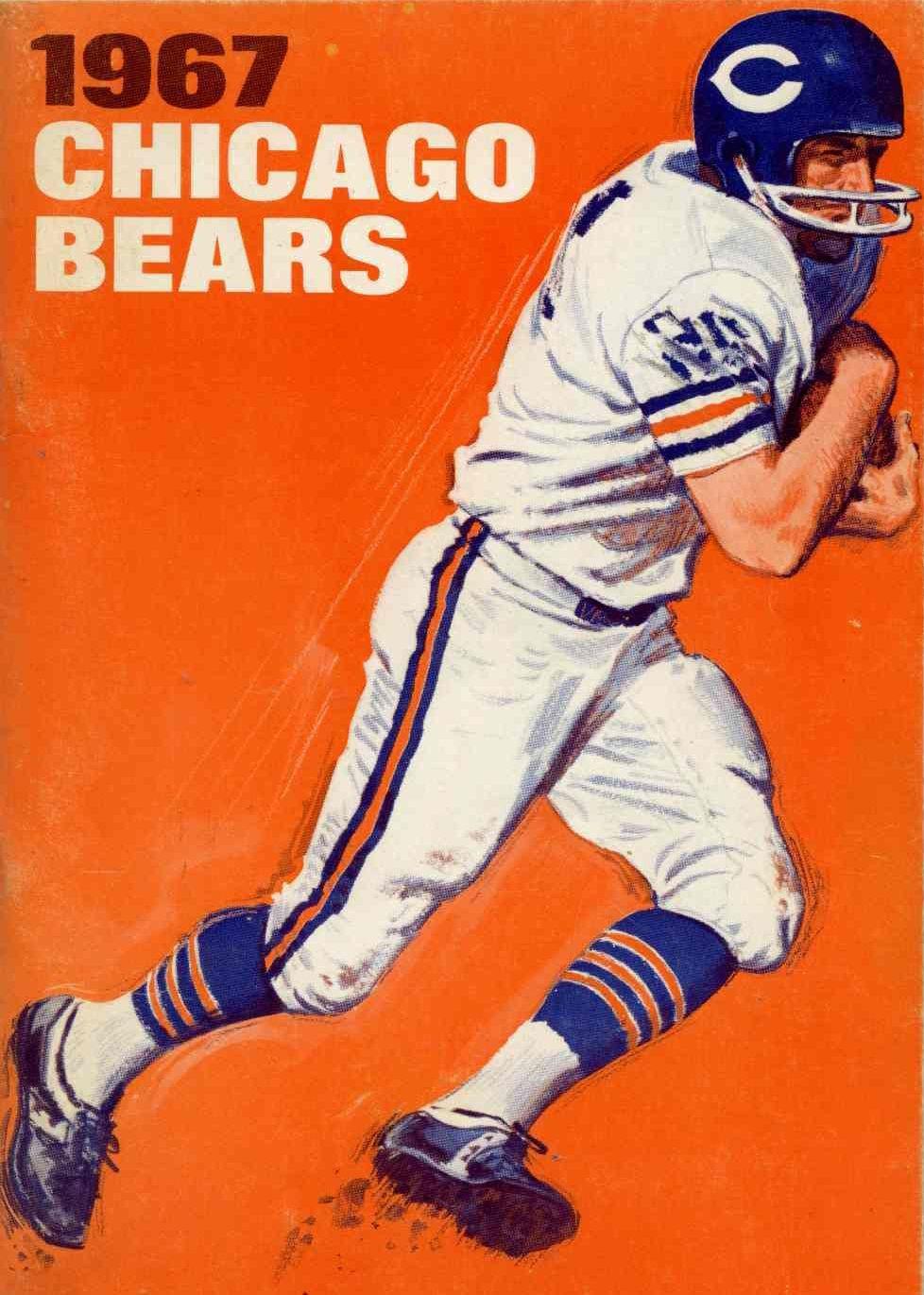 1967 Chicago Bears Nfl chicago bears, Chicago bears