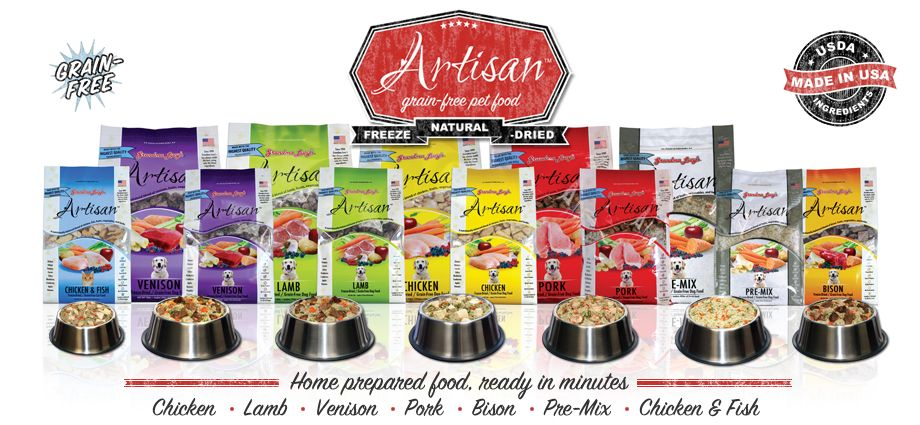 All natural dog food freezedried pet food grandma