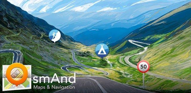 الكثير منا يجد نفسه بحاجة لإستخدام تطبيقات للخرائط والملاحة بدون وجود شبكة إنترنت مثل تطبيق جوجل الرسمي Google Maps وغيرها من التطب Amazing Maps Map Navigation