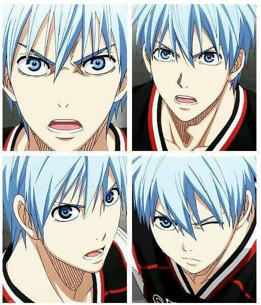 I love pissed off during a game Kuroko.