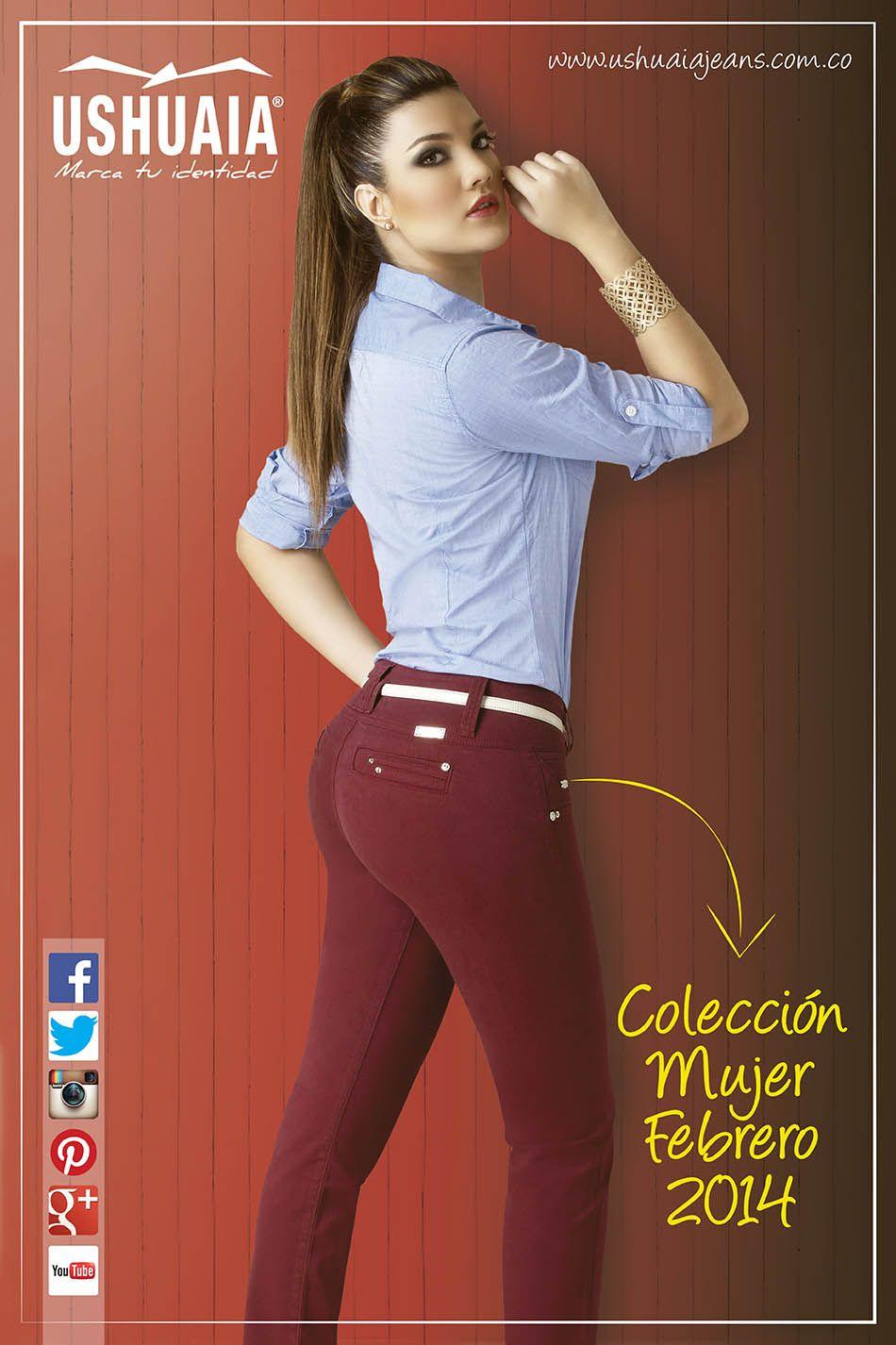 Portada Catalogo Ropa De Moda Mujer Coleccion Febrero 2014 Moda Para Mujer Catalogos De Ropa Ropa