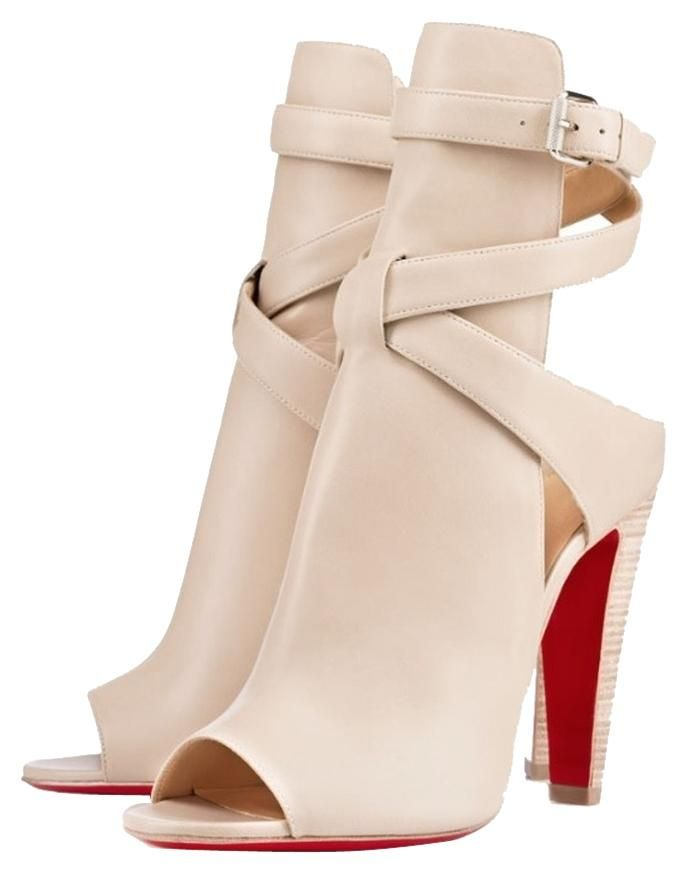 0b30bb5d91e Christian Louboutin Hippik Nude Boots. Get the must-have boots of ...