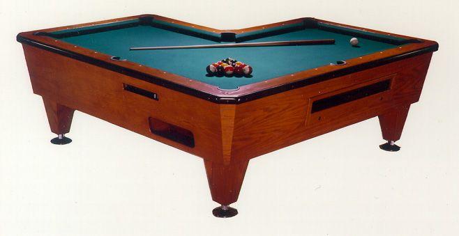 Unusually Shaped Pool Table L Shaped Pool Table Billiards
