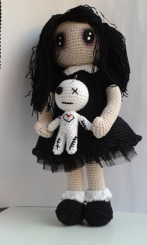 Pattern Gothic Lolita With Voodoo Doll Pdf Instructions For Make