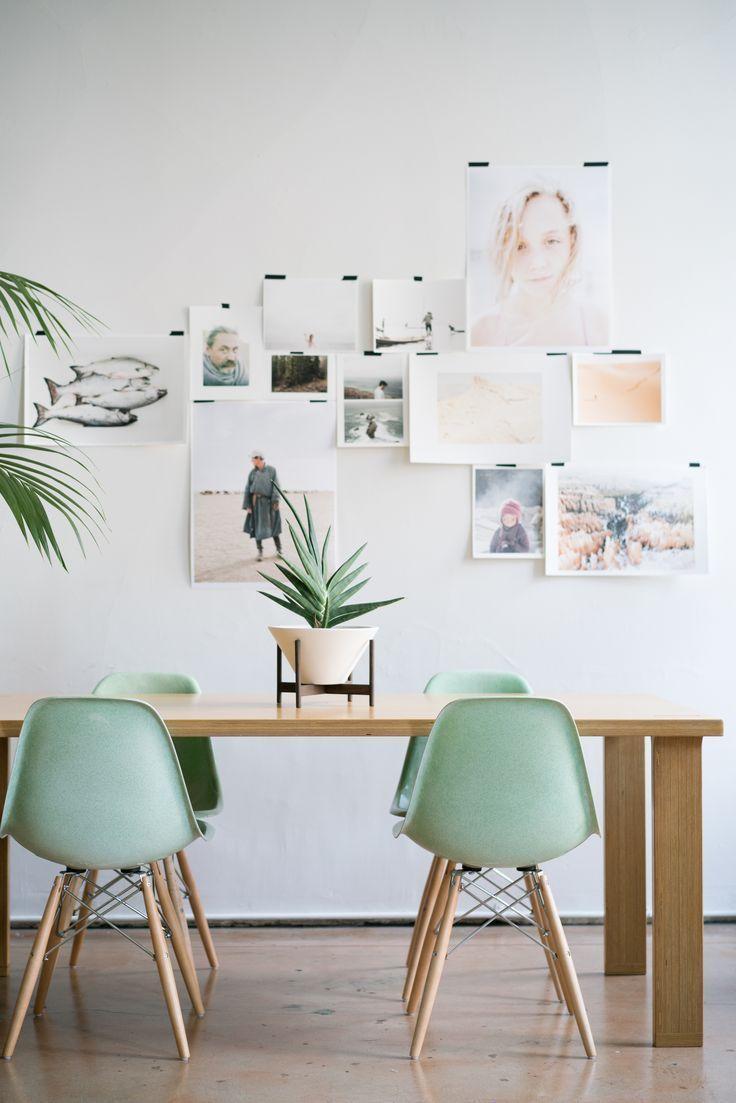 Dining Room decor ideas - midcentury modern with jadeite green ...