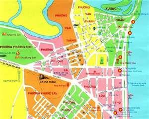 Nha Trang Vietnam Map.Nha Trang Vietnam City Map Vietnam Pinterest Vietnam