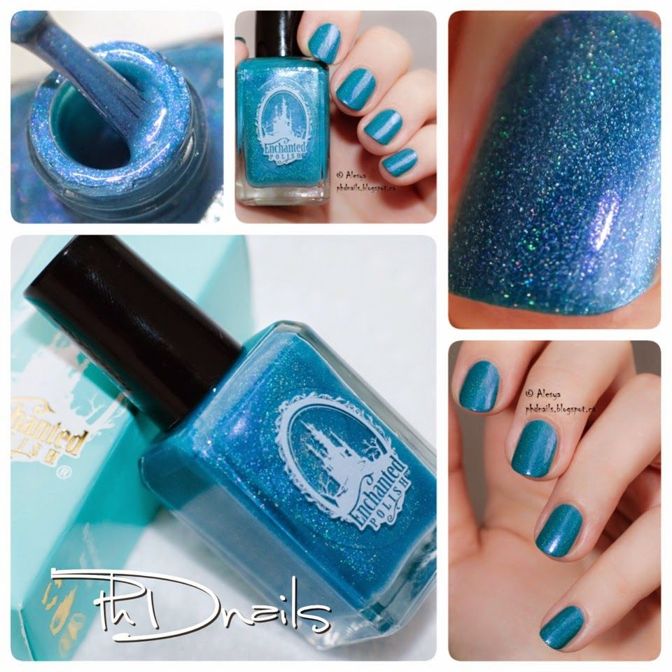 Phd Nails Abc Challenge Enchanted Polish Lala Land Swatch