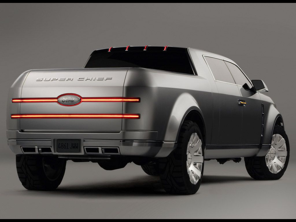 Ford f 250 super chief concept im not a ford truck person