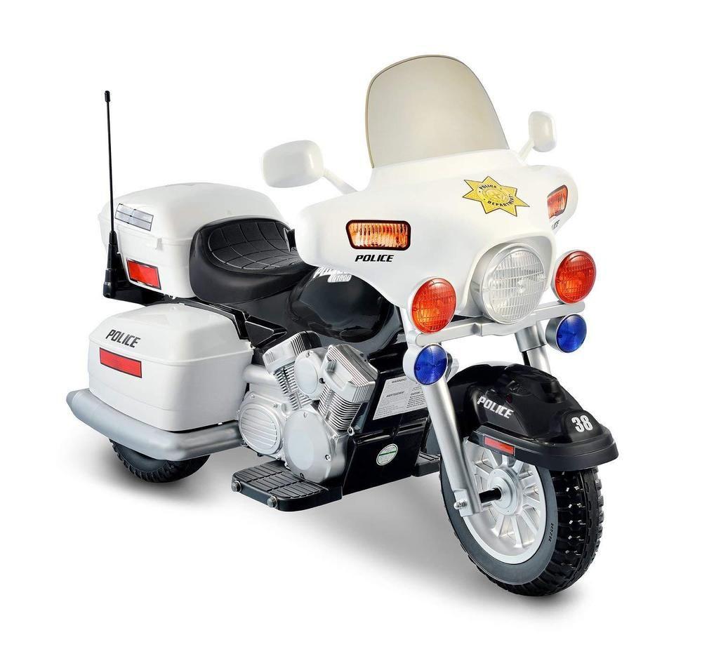 Police 12v Motorcycle Toddler Boy Ride On Vintage Motorbike Toy Policeman Patrol Police12vmotorcycle Kids Motorcycle Kids Ride On Ride On Toys