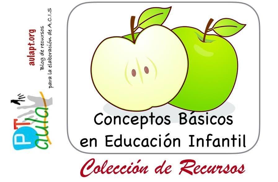 Recursos Para EducaciÓn Infantil: COLECCIÓN DE RECURSOS PARA EDUCACIÓN INFANTIL- Conceptos