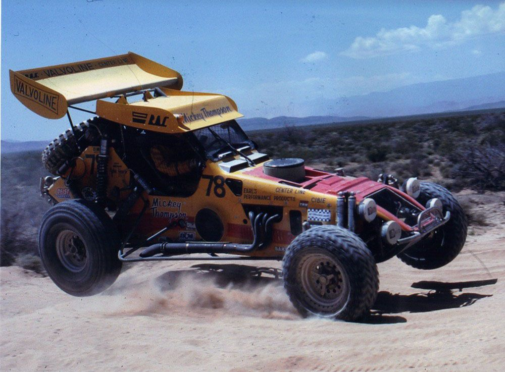 Mickey Thompson V8 Off Road Class 1 Buggy Dune Buggy Classic Racing Vintage Race Car