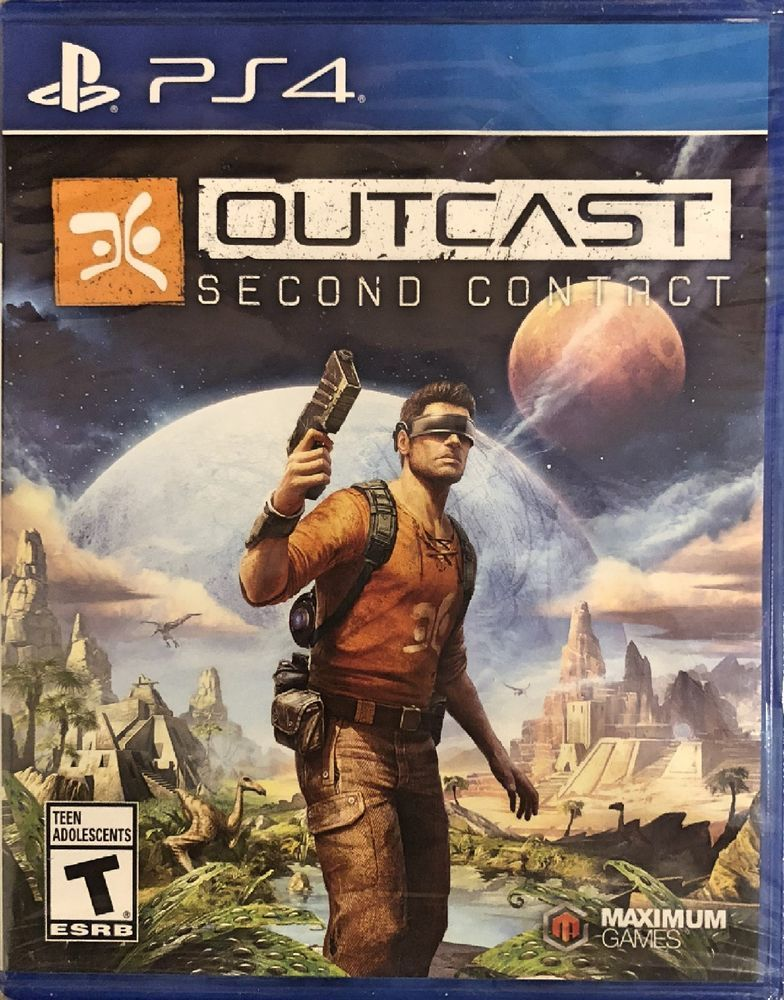 Outcast Second Contact Ps4 Brand New