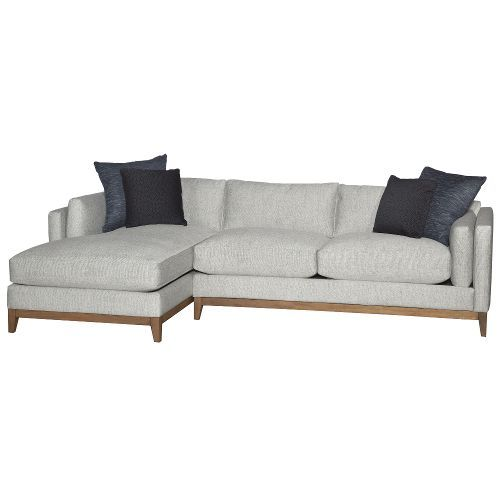 Stone 2 Piece Sectional Sofa With Laf Chaise Kelsey In