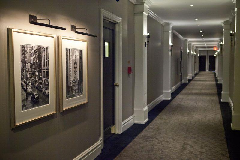 Apartment Building Foyer Designs : Rittenhouse square apartments the touraine hallway re