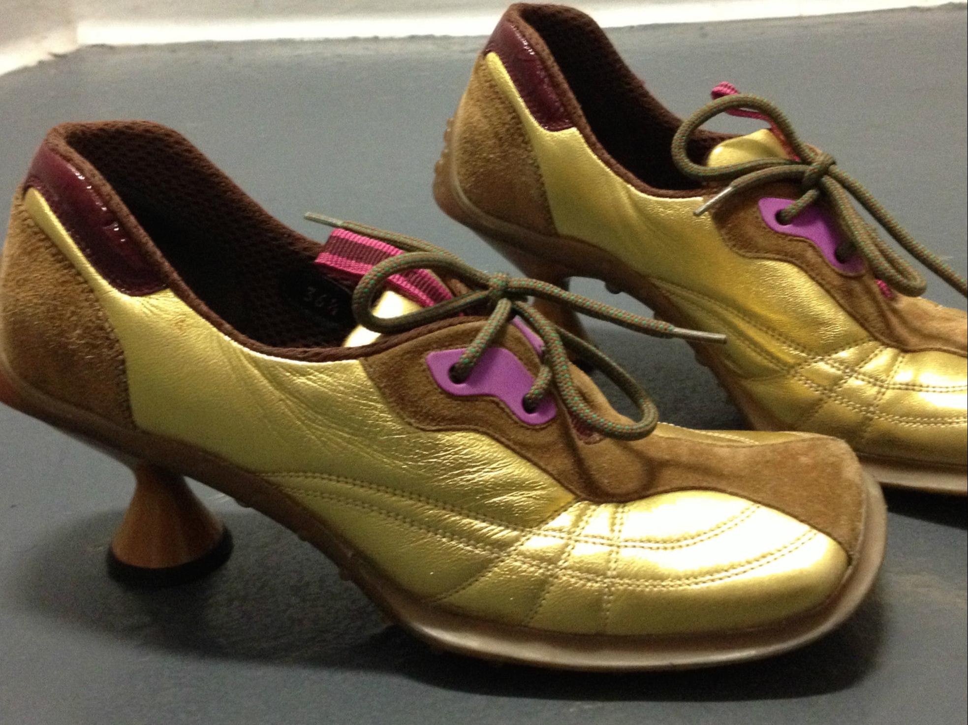 Shoes, Leather sneakers, Sneaker heels