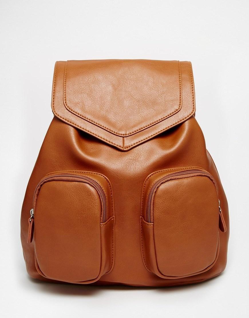 ASOS | ASOS Front Pocket Backpack at ASOS