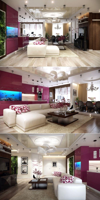 Wohnzimmer des modernen interieurs des hauses beispiele zum wohnzimmer einrichten u  moderne ideen  wohnzimmer