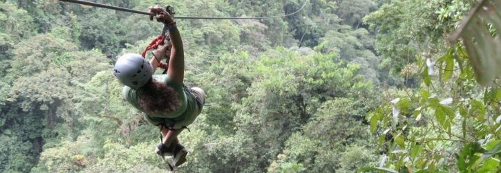Zip Lining 12 Cables In Punta Cana
