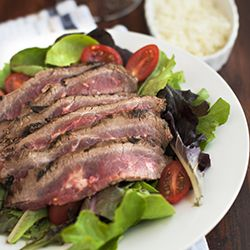 Grilled flank steak- so simple but so delicious