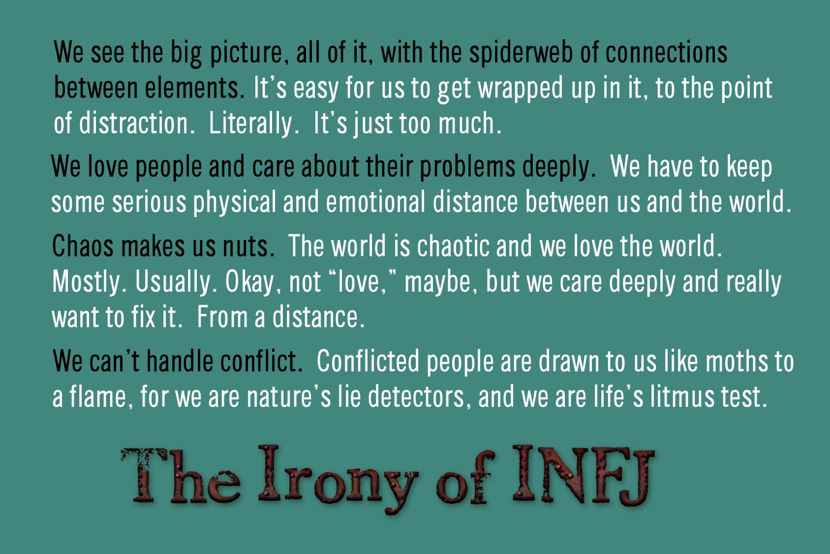 infj vs intj relationship problems