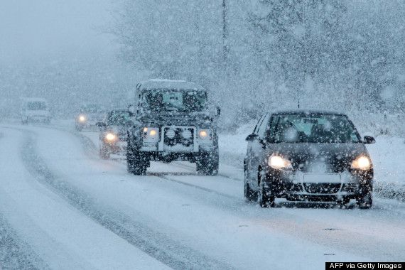 driving in snow uk