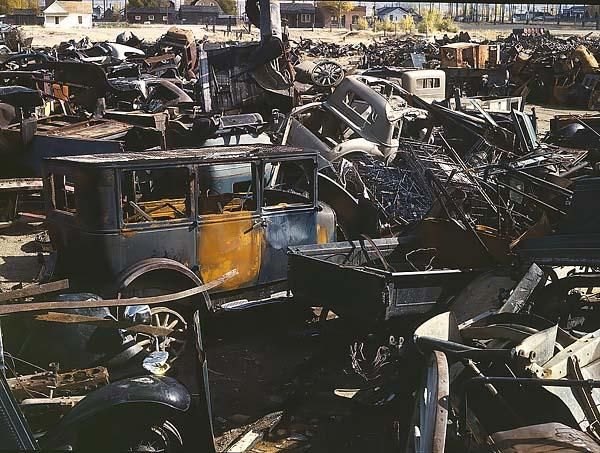 Thats On Old Junk Yard Memories Abandoned Cars Cars