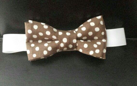 Boys polka dot bow tie